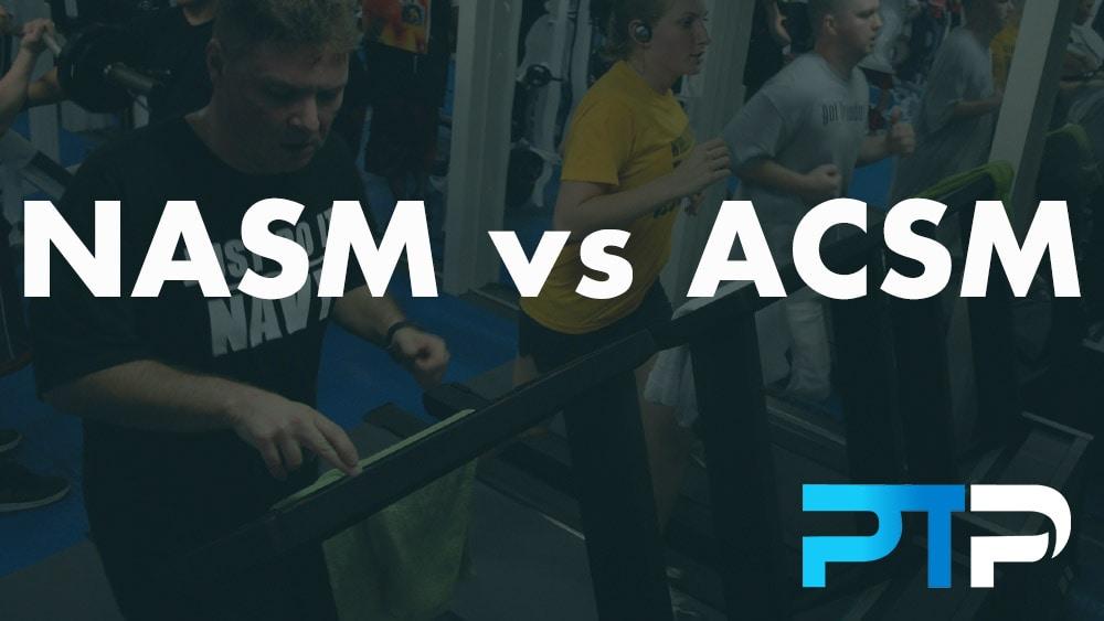 NASM vs ACSM