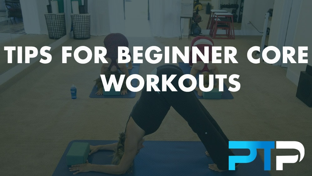 Tips for beginner core workouts