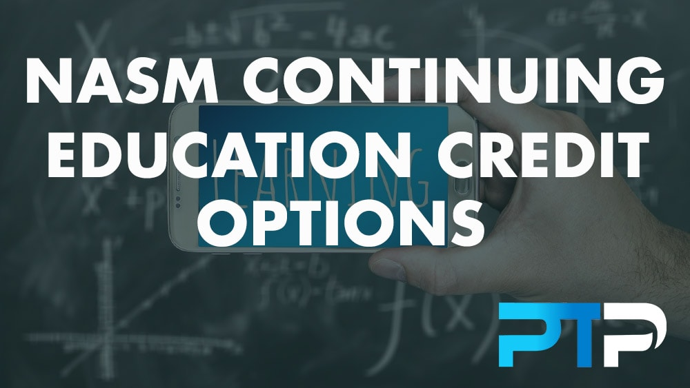NASM Continuing Education Credit Options