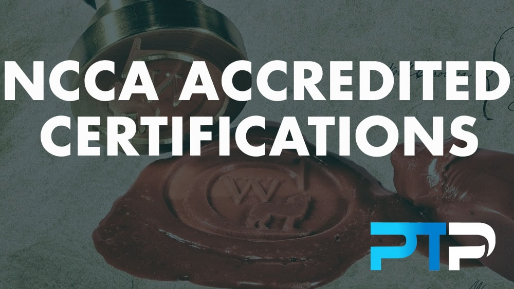 NCCA Accredited Certifications