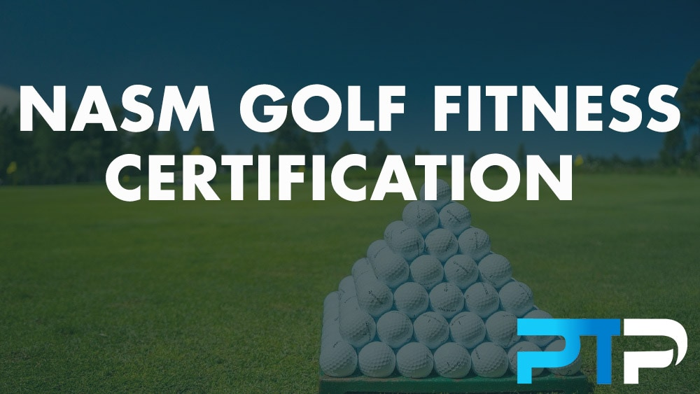 NASM Golf Fitness Certification