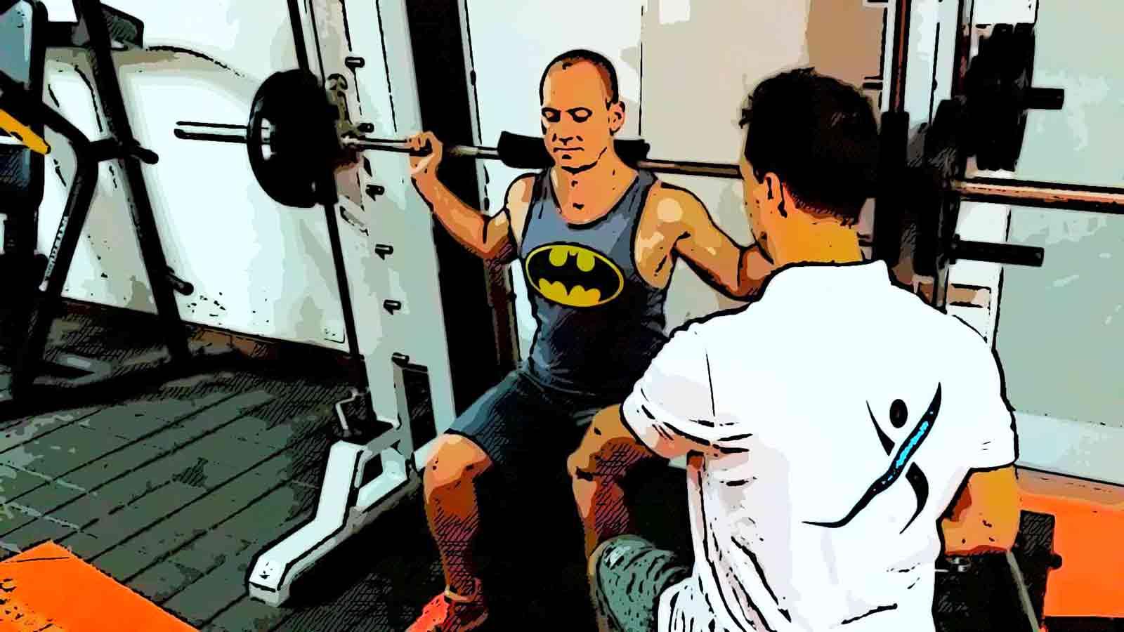 Squat strength test