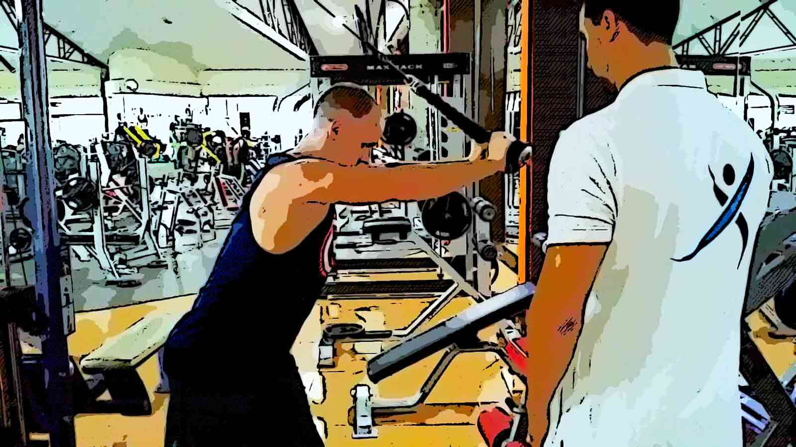tricep extentions with rope