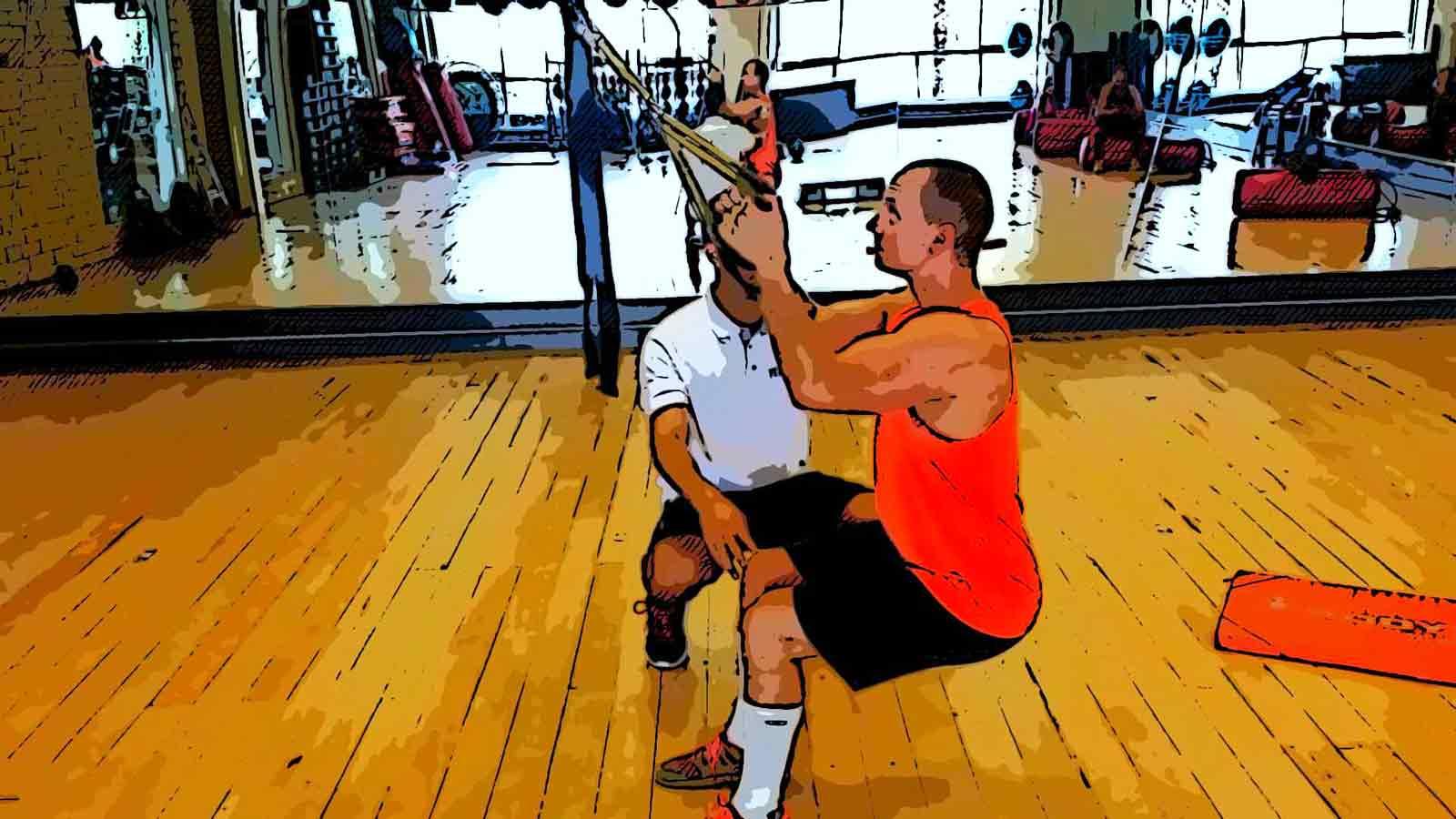 TRX squats