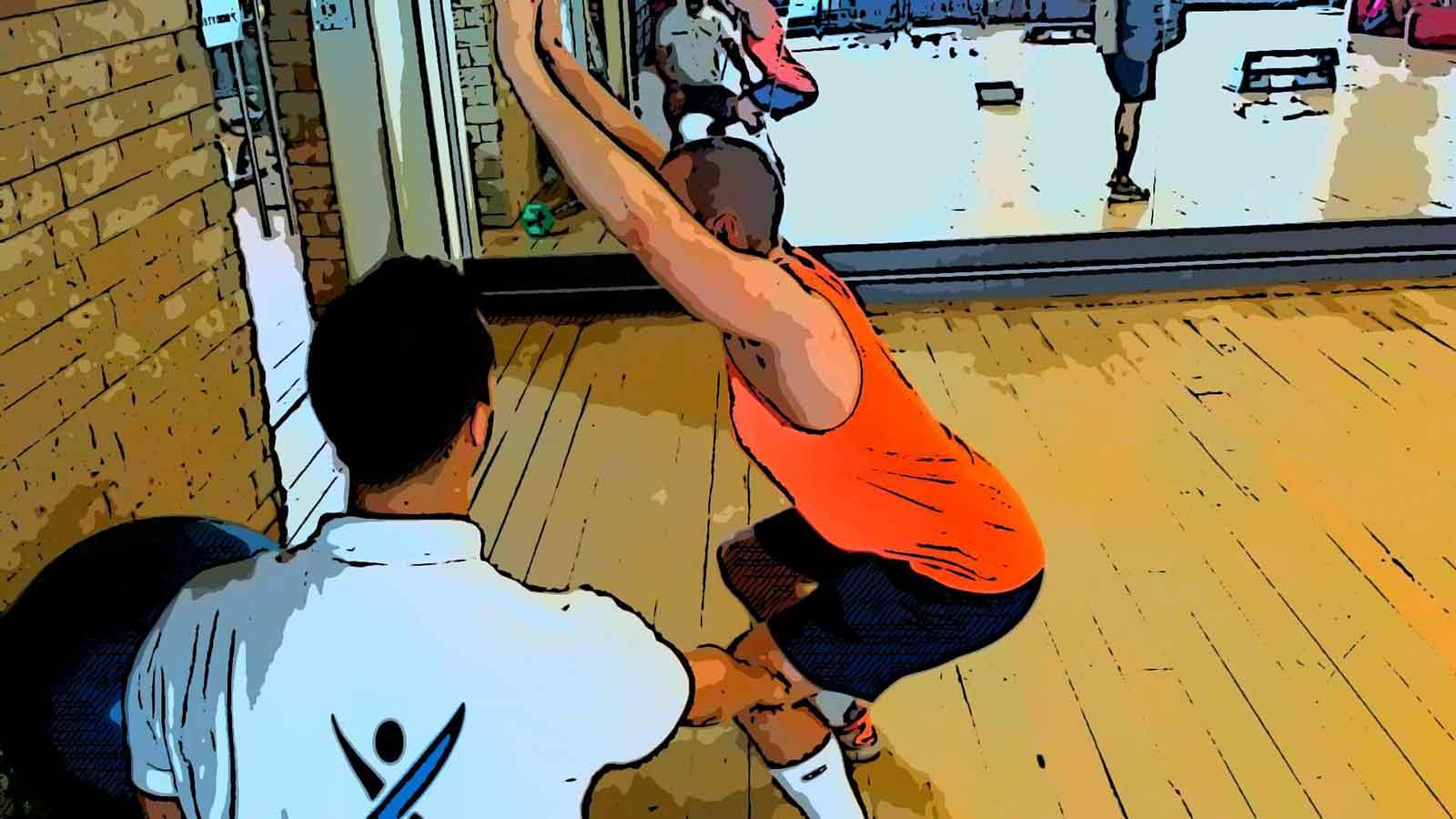 Overhead squat assessment