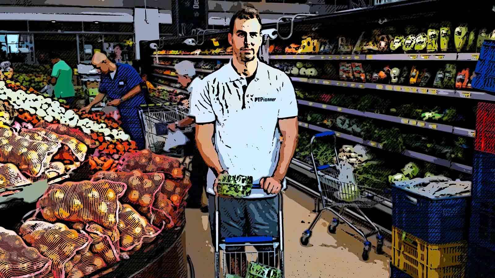 Health coach shopping