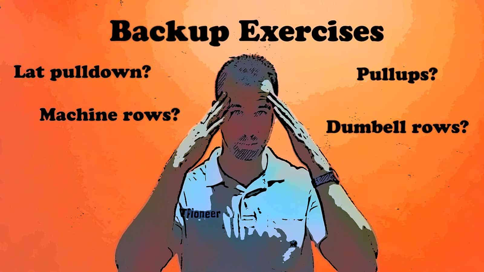 Having backup exercises