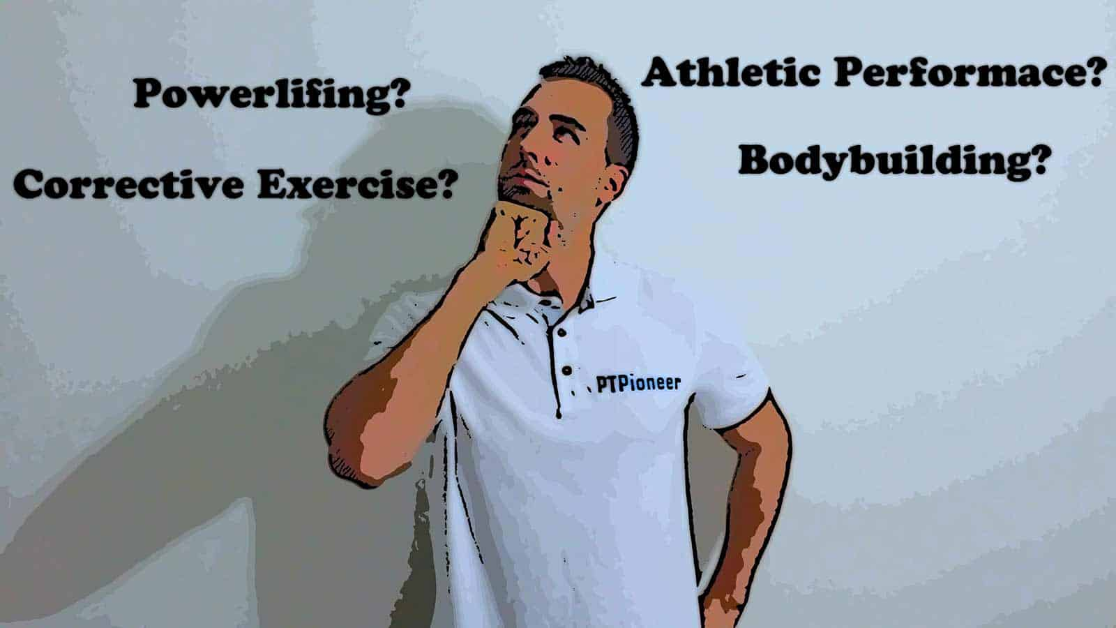 What type of personal training do you want to do?
