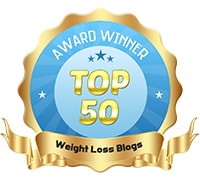 Top 50 Weight Loss Blogs Award