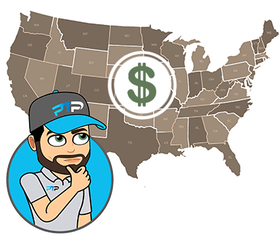 Personal trainer salary per state