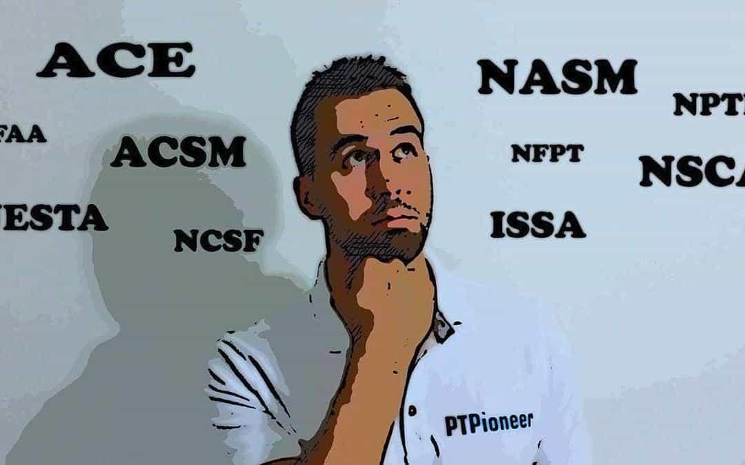 best personal trainer certification guide - ptpioneer