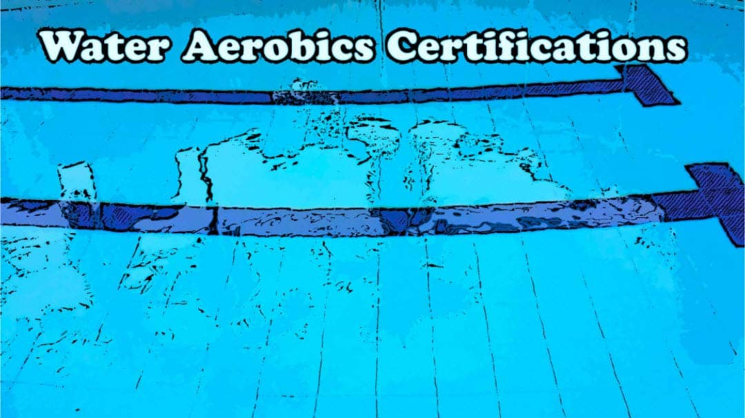 Water Aerobics Certification - Let's get Splashing 1