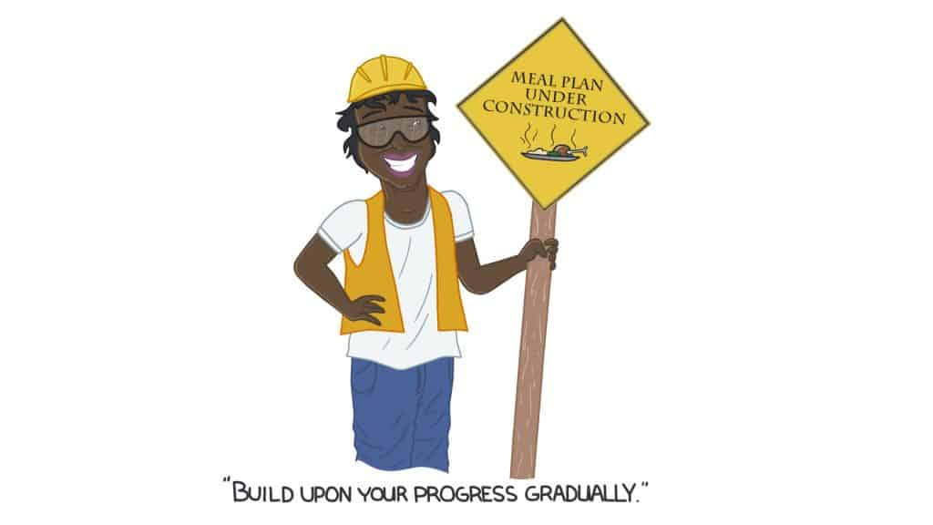 Build upon your progress gradually