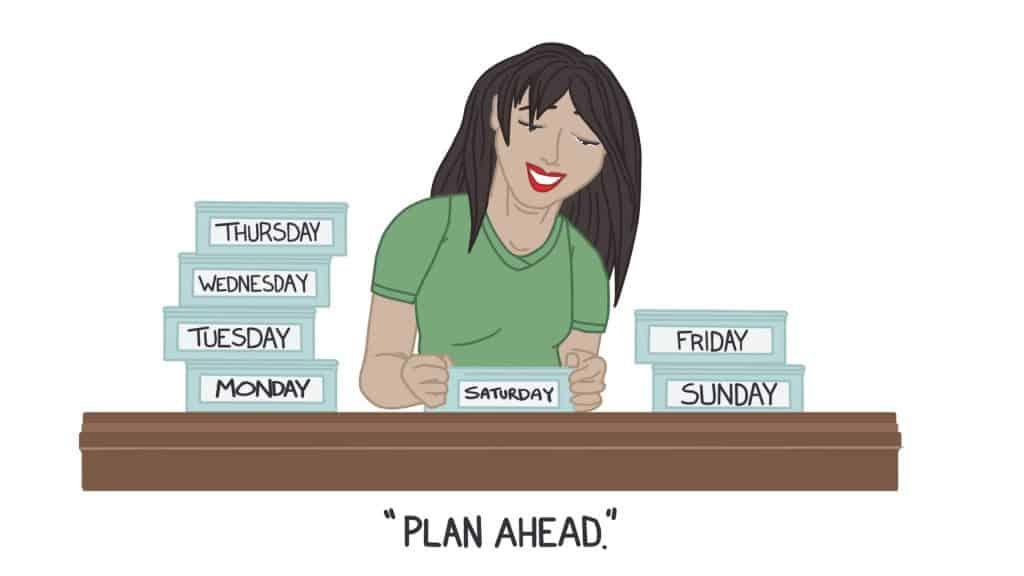 Plan Ahead (Meal Prep)