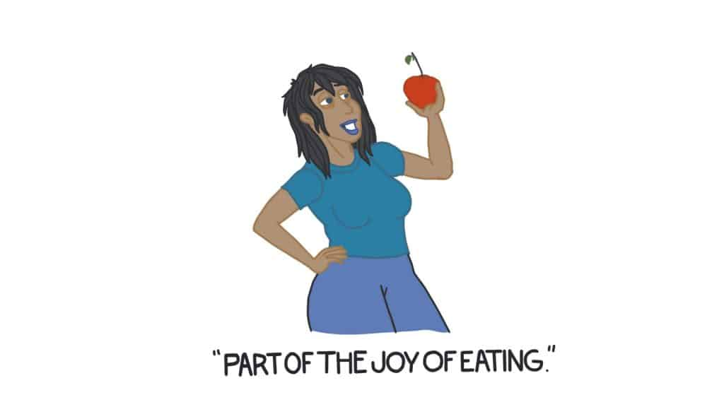 Part of Joy of Eating