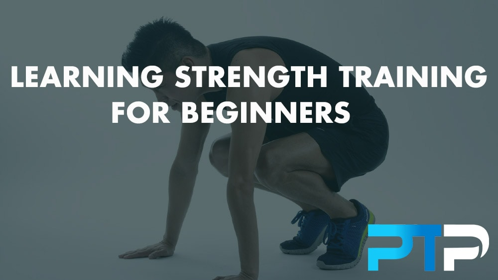 Learning strength training for beginners
