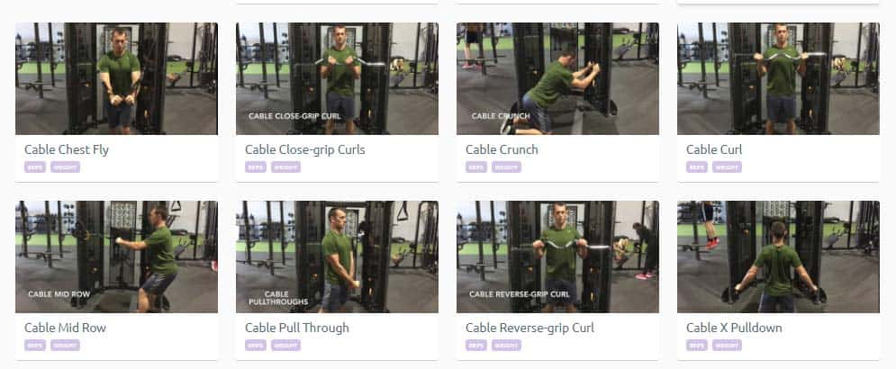 In depth look at Strength Portal personal trainer software 3