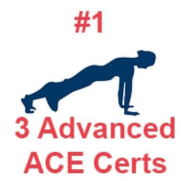 Best ACE certification - Advanced PT Certifications Comparison