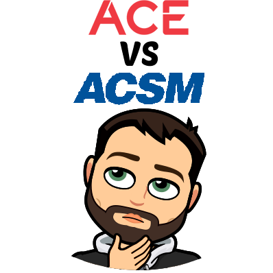 ACSM vs ACE - Let's Find Out which is Better For You in [year]! 60