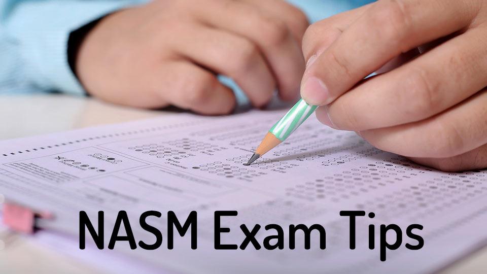 NASM CPT exam tips