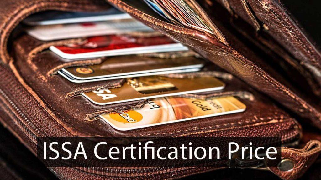 ISSA certification price