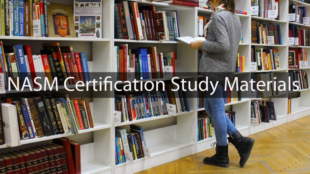 NASM certification study materials resources