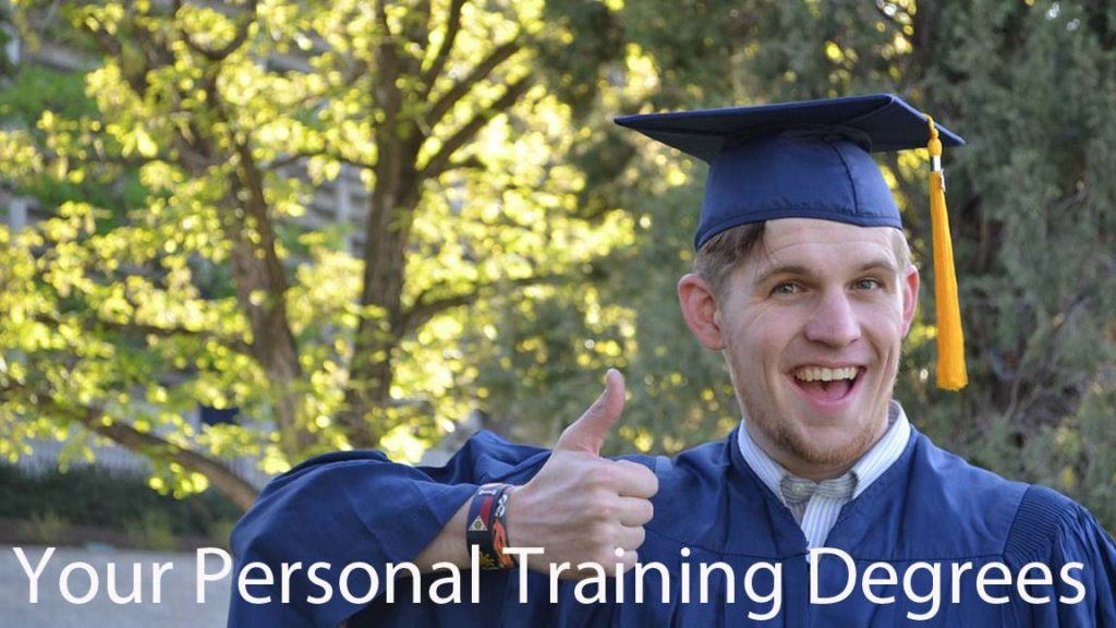 Best personal training degrees programs certifications