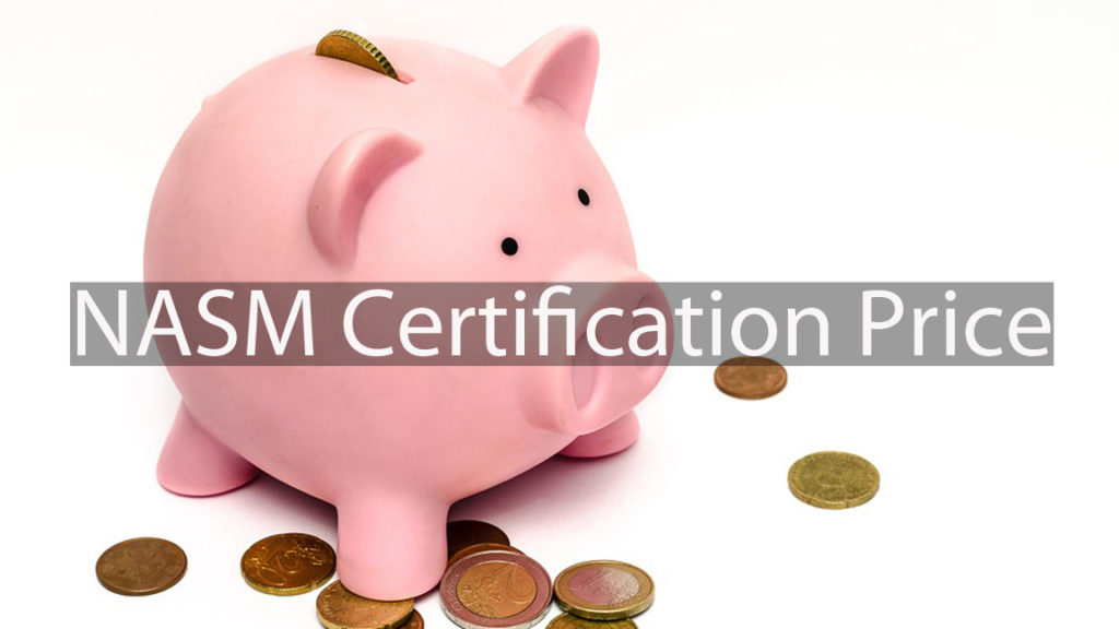 NASM certification price