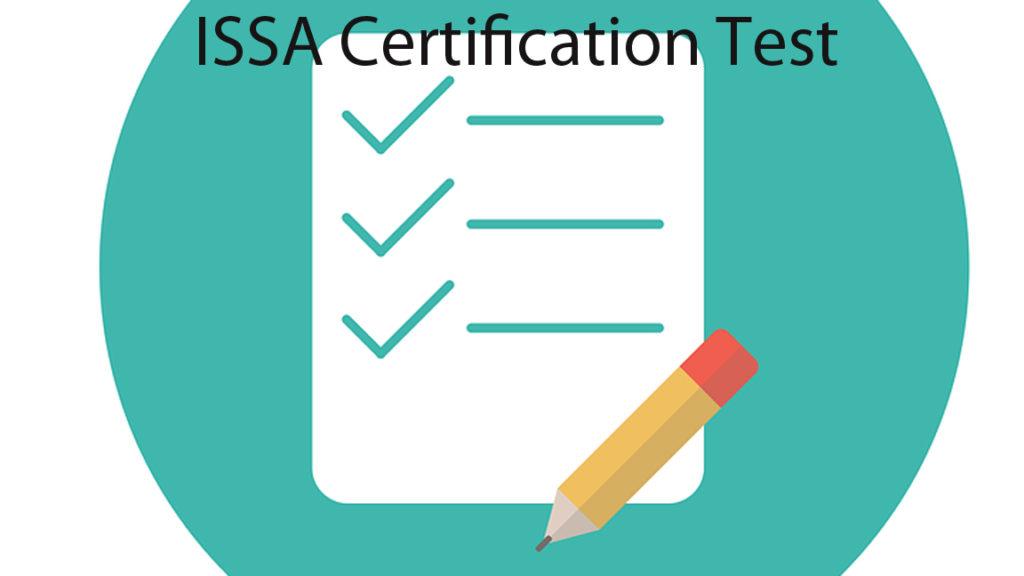 ISSA certification test