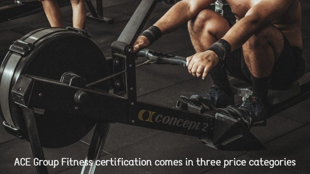 ACE Group Fitness certification costs