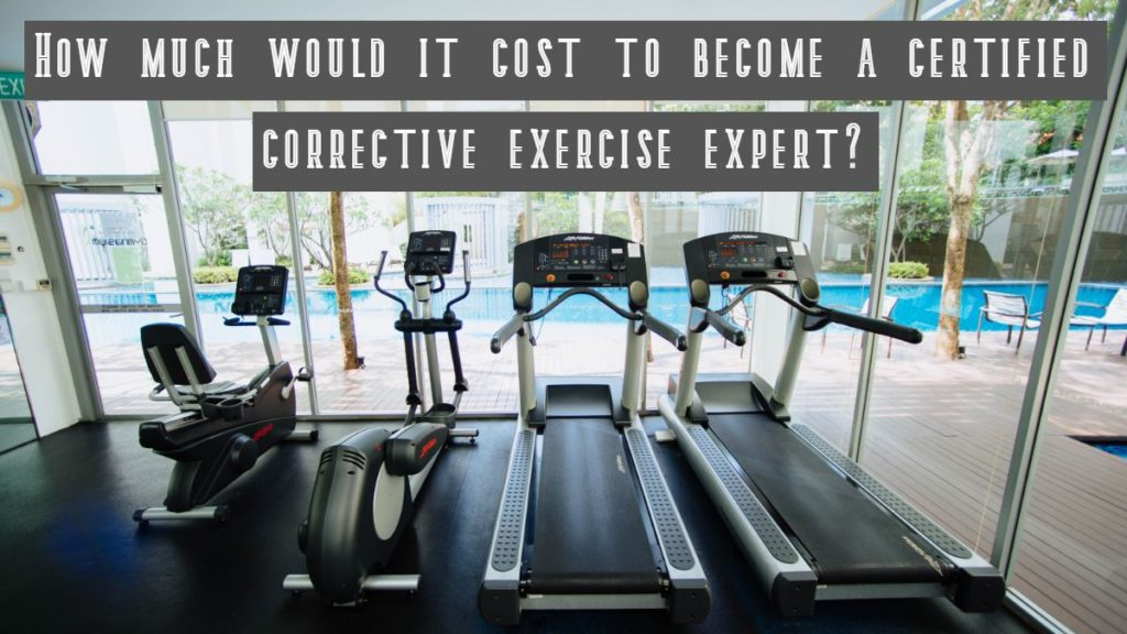 Corrective Exercise Certifications Ranked by cost