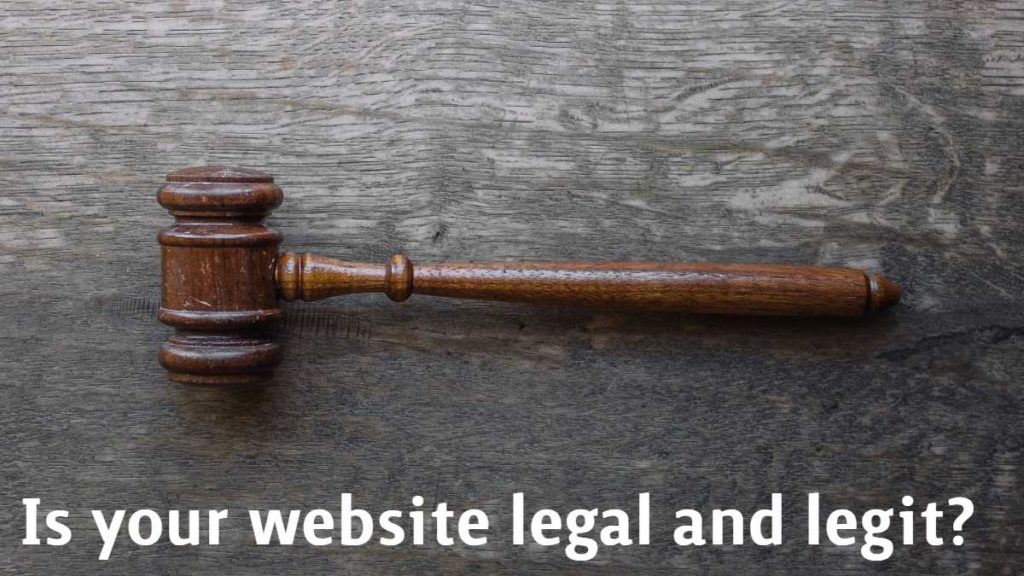 Make your business legal
