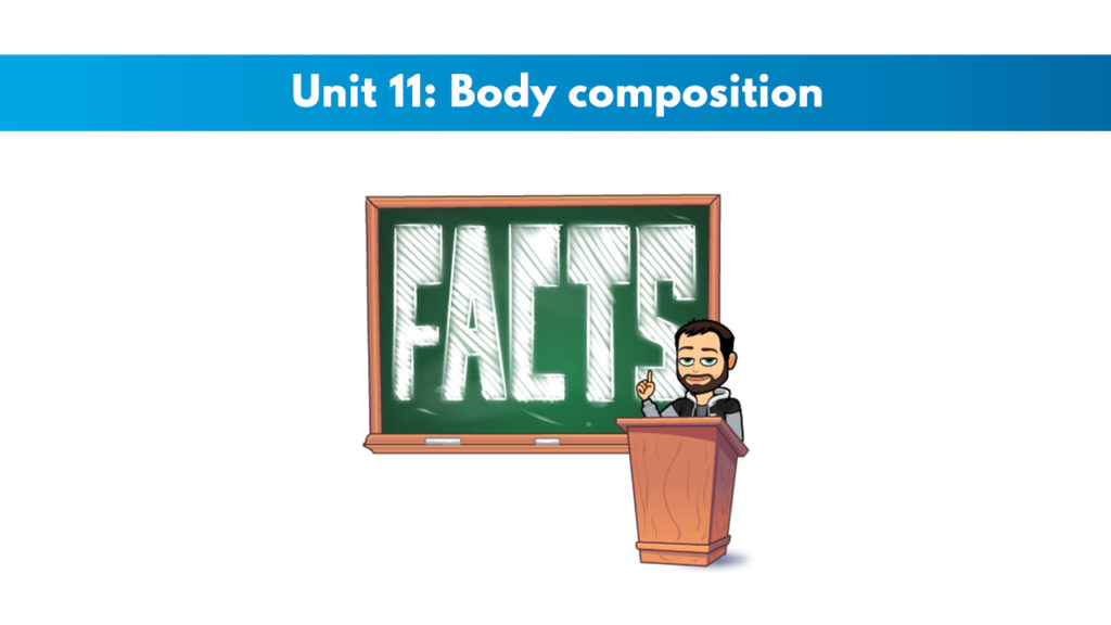 ISSA Unit 11 - Body composition