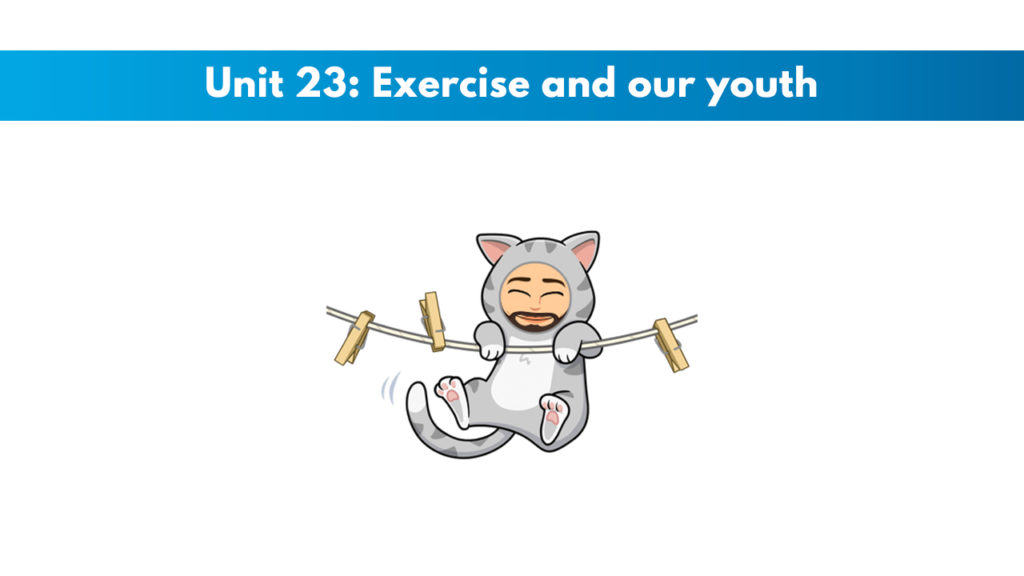 ISSA Unit 23 - Exercise and our youth