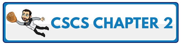 CSCS Chapter 3: Bioenergetics of Exercise and Training 2