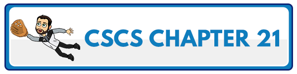 CSCS Chapter 22: Rehabilitation and Reconditioning 2