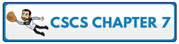 CSCS Chapter 8: Psychology of Athletic Preparation and Performance 2