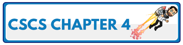 CSCS Chapter 3: Bioenergetics of Exercise and Training 1