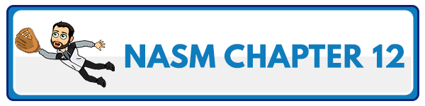 NASM 6th Edition chapter 13 - Assessments, Training Concepts, and Program Design 2