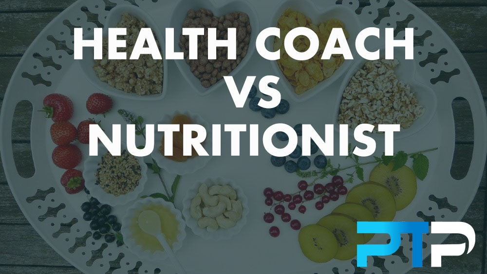 Health coach vs Nutritionist