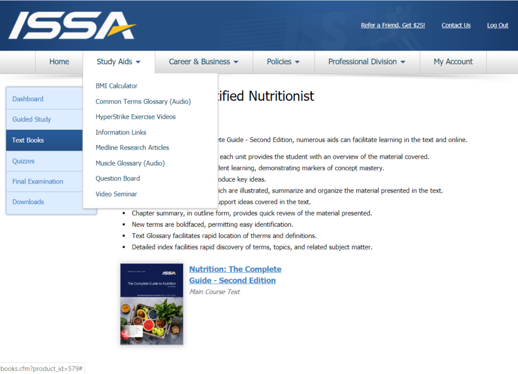 ISSA Nutritionist Certification Review [year] - Is it the Best? 59