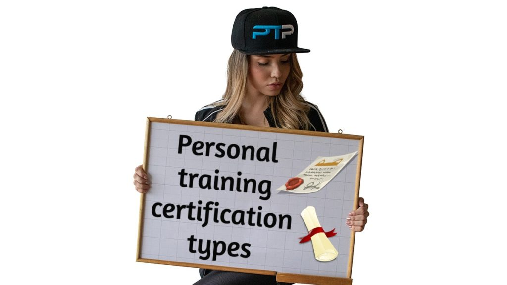 Personal training certification types