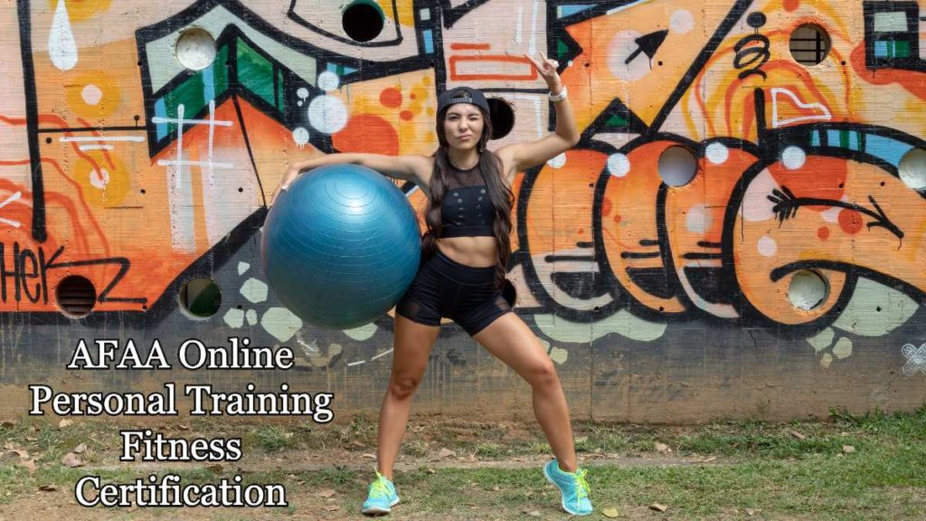 AFAA Online Personal Training Fitness Certification