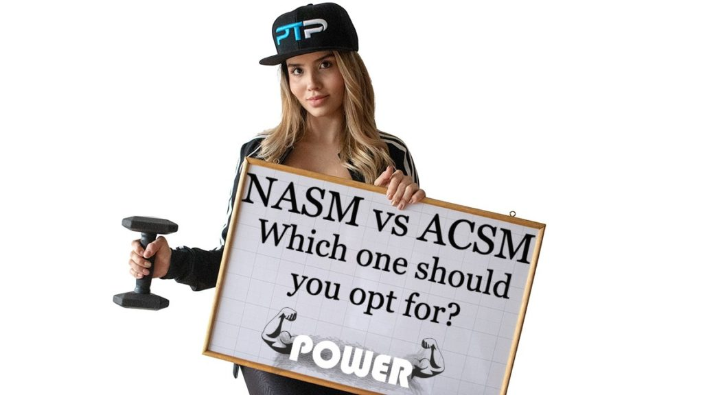 NASM vs ACSM - Which one should you opt for?