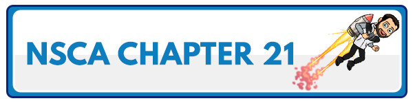 NSCA CPT Chapter 20 – Clients With Cardiovascular and Respiratory Conditions 55