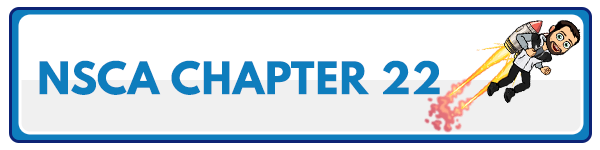 NSCA CPT Chapter 21 – Clients With Orthopedic, Injury, and Rehabilitation Concerns 55