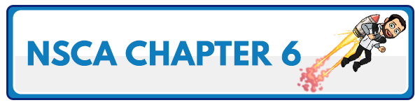 NSCA CPT Chapter 5 – Resistance Training Adaptations 1