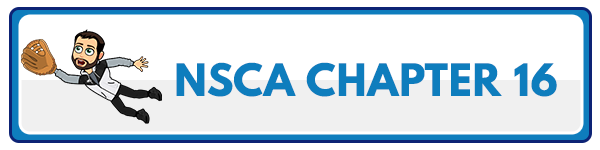 NSCA CPT Chapter 17 – Plyometric and Speed Training 2