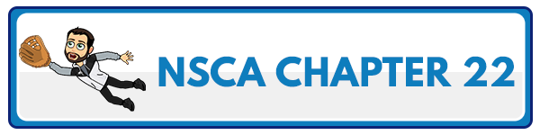 NSCA CPT Chapter 23 – Resistance Training For Clients Who Are Athletes 2