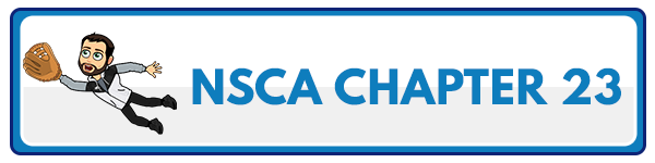 NSCA CPT Chapter 24 – Facility and Equipment Layout 2